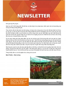 SIS - Newsletter of May 2018 - VN-1