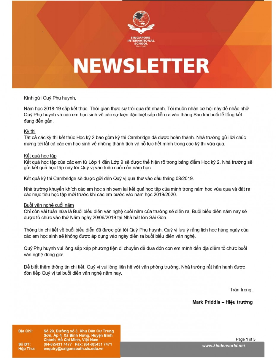 SIS - Newsletter of May 2019 - VN_page-0001