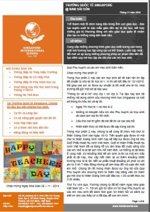 SIS@SS - Newsletter of November 2014 (Vietnamese, 1.4MB)