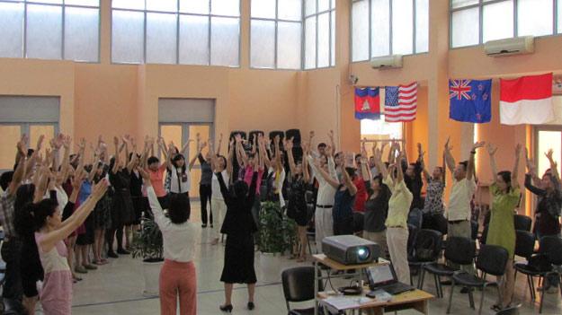 Parents activities at Singapore International School (SIS)